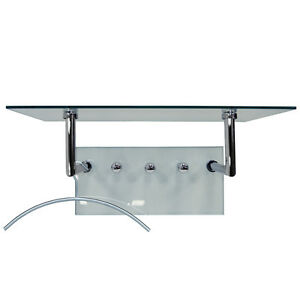 GHOST-Glass-and-Metal-Wall-Shelf-with-Coat-Hanging-Pegs-Silver-Clear-CH830L