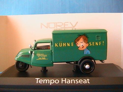 TEMPO HANSEAT KUHNE SENF 1950 NOREV 820762 1 43 GRUN
