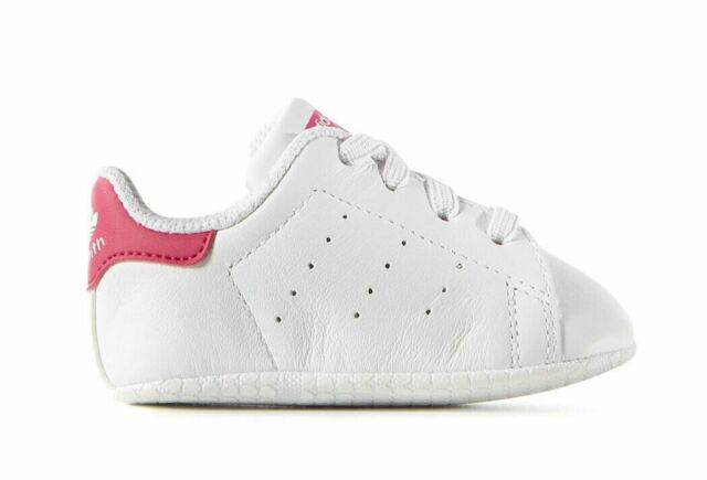 Adidas Originals Infant   Toddler s STAN SMITH CRIB Shoes White Pink S82618  c 0dbca7631