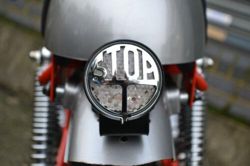 Rear Stop Tail Light for Cafe Racer Retro Vintage Motorbike Custom LED