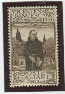 Italy Stamps Scott #183 MINT,LH,VF (X5775N)