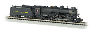 N-Bachmann-52852-PRR-K4-4-6-2-Steam-Loco-DCC-SOUND-VALUE-Post-war-3750