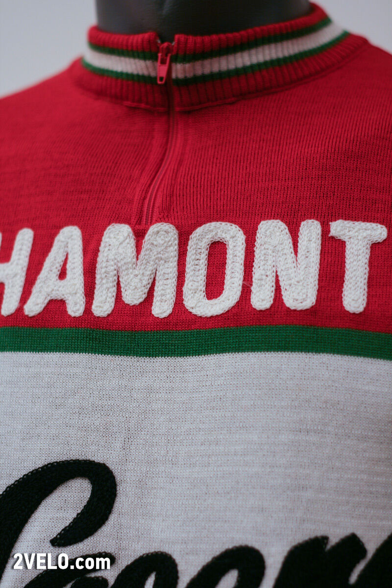 LA CASERA Bahamontes vintage wool jersey, new, never XL worn XL never dd00f3