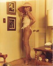 ORIGINAL SEMI-NUDE COLOR 8X10 PHOTO ~ SWEET LOVER, WIFE OR GIRLFRIEND