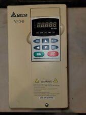 Delta Vfd B Ac Drive 5hp 380 480v Vfd037b43a