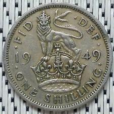 GREAT BRITAIN - 1949 - 1 Shilling George VI #CARW