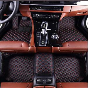 6 Colors Car Floor Mats for Benz E Class Coupe 2009-2017 Waterproof 3D Carpets