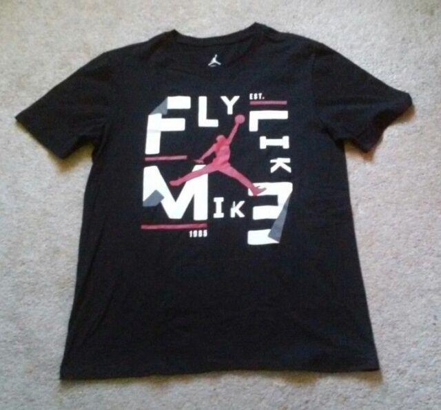 f7937c0c55b Nike Men's Black Jordan Fly Like Mike Elephant Print Tee Size M 833744 010  | eBay