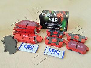 FOR-HONDA-CIVIC-TYPE-R-2-0-EP3-FRONT-REAR-EBC-RED-STUFF-BRAKE-PADS-SET