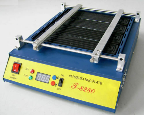T8280 IR Preheating Oven PCB Preheater T-8280 Infrared Preheating Station CE