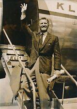 Kirk Douglas 1955 - Acteur Départ pour Amsterdam - PR 123
