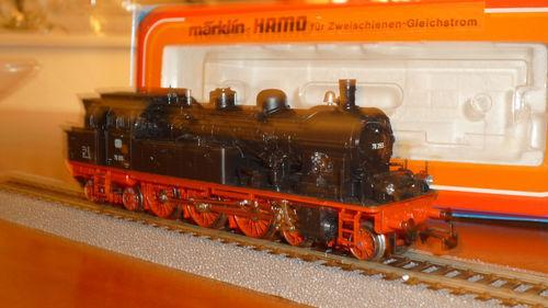 a la venta Märklin Hamo  2 rotaie DC DC DC locomotiva a vaporeDampflok BR78 DB nuovoneu HO 8306  mejor calidad mejor precio