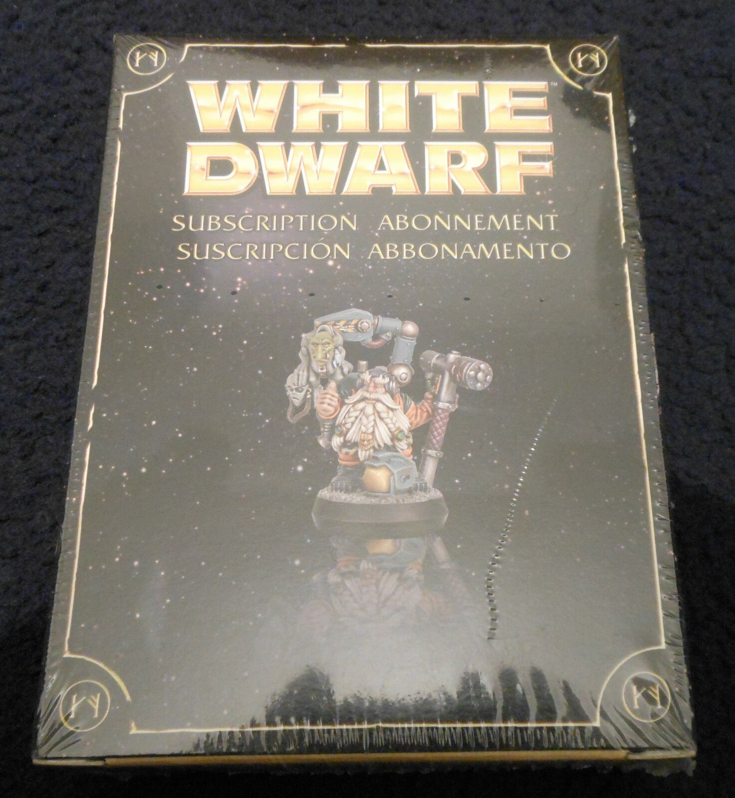 2010 wd-10 limited blanco DWARF abbonamento miniature Games Workshop Squat Nuovo di zecca con scatola