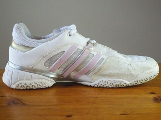 Women s Adidas Feather Adiprene Leather Tennis Shoes APE 779001 Size ... 4ba9fcba2080b