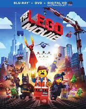 The LEGO Movie (Blu-ray/DVD, 2014, 2-Disc Set