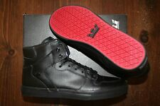 NEW NEW SUPRA VAIDER BLACK BLACK RED SURF BMX SNOW SKATEBOARD SPORTS SHOES 10