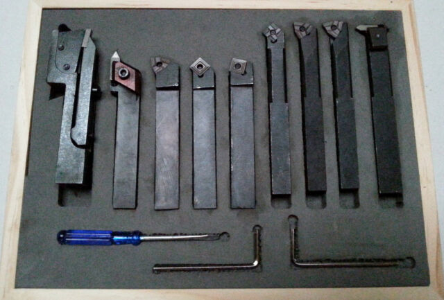 Lathe Tools - Indexable Carbide Manual 12mm Tip Height