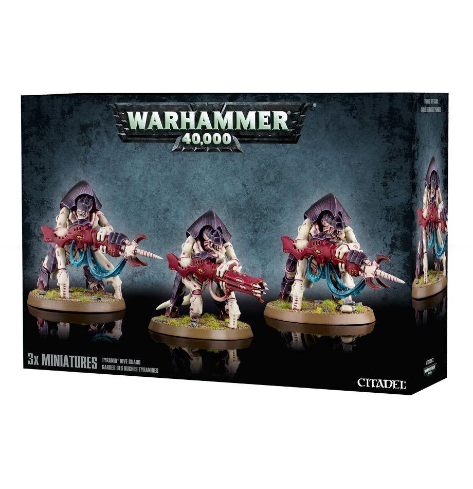 Warhammer 40K Tyranids Guardia Tiranida plastic new