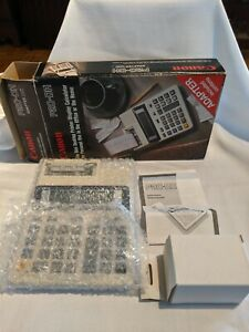 Vintage-Canon-P20-DH-Mini-Desktop-Printer-Calculator