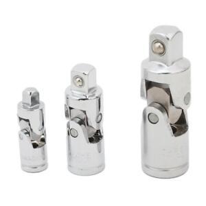 Drive Universal Joint Socket Set Swivel Flex Joint Adapter Wobble U Joint 6T