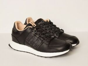 1a450872ed54 Adidas Consortium x Avenue Equipment Support 93 16 Black Leather ...