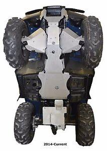 Ricochet-Off-Road-5-PC-Complete-Skid-Plate-2005-19-Honda-TRX500-FourTrax-Foreman