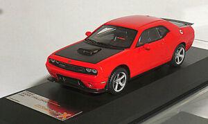 PREMIUM X PR0032 1/43 DODGE Challenger SRT10 rouge 2009