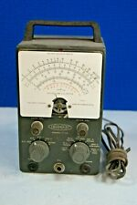 Vintage Heathkit Vacuum Tube Voltmeter Model V 7a Weston Untested No Probes