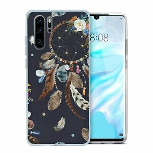 For-Huawei-P30-PRO-Silicone-Case-Dream-Catcher-Pattern-S8250