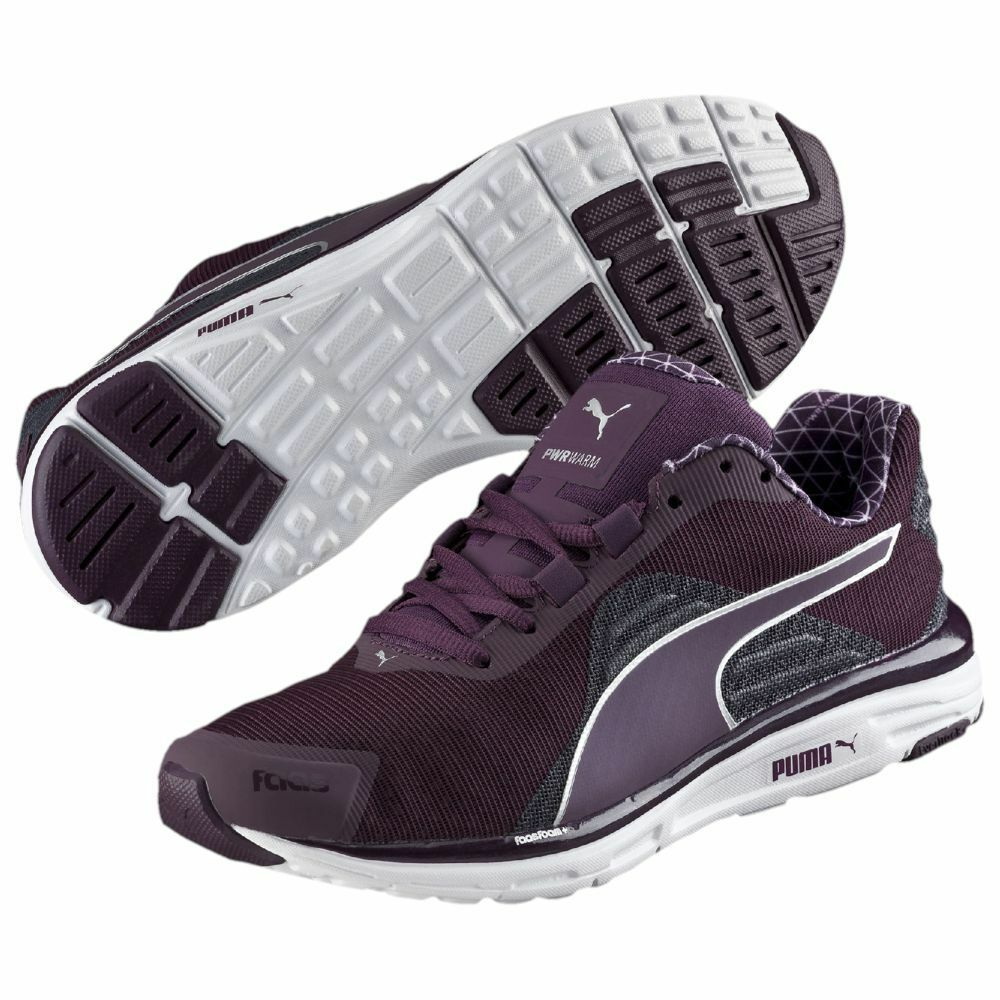 Women's Shoe PUMA FAAS 500 V4 PWRWARM Running Sneakers 188234-01 Plum *New* The most popular shoes for men and women