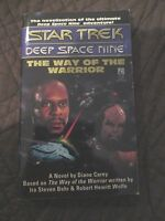STAR TREK DEEP SPACE NINE PAPERBACK BOOK - THE WAY OF THE WARRIOR