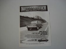 advertising Pubblicità 1971 NSU 1200 C