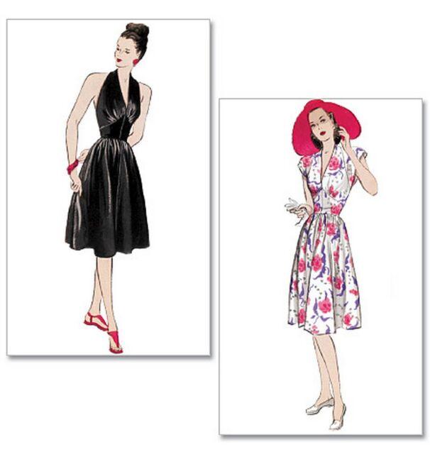 Butterick B5209 Sewing Pattern 6-12 Vintage Retro Dress 40\'s 50\'s ...