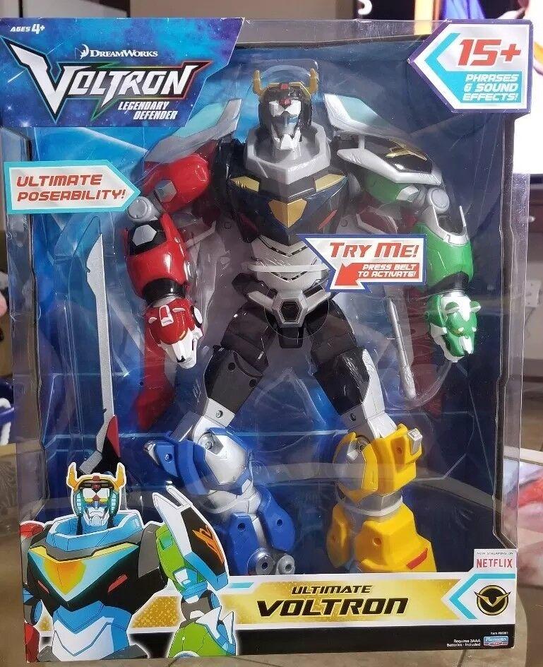TRANSFORMER The Legendary Defender VOLTRON Talking Action Figure DreamWorks NIB