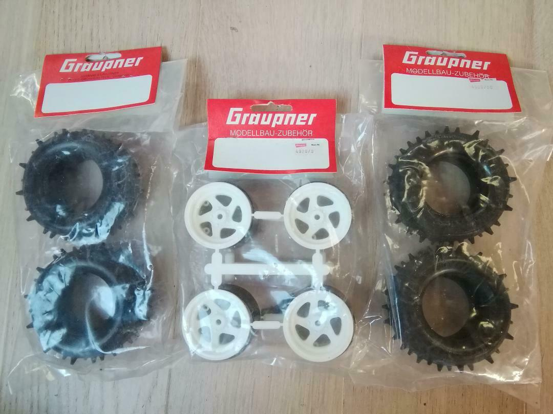 Kyosho vintage OT-30 OT-3 Wheels for Optima NIP New In perfect conditions.