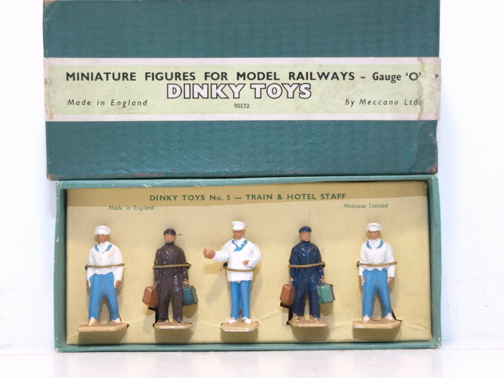 Dinky No.5 Train and Hotel Staff.