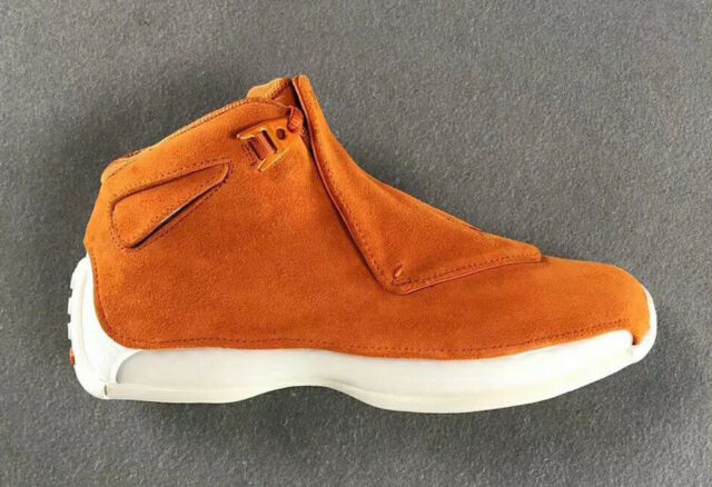 b64c9a64d83b Air Jordan 18 Retro Campfire Orange Aa2494 801 Mens Sz 8 NWB for ...