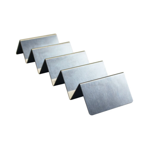 Thunder Group 4-5 compartments taco holder comes in each stainless steel