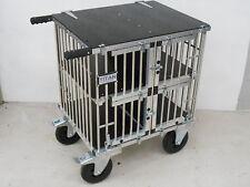 "Titan Toy Breed 4 Berth Aluminium Dog Show Trolley w/8"" All Terrain Wheels"
