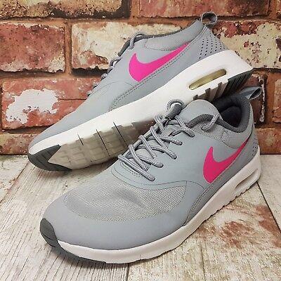 best website 056df 4568a Scarpe Donna Taglia 5 Grigio 37 Nike Air Ginnastica Max Eu Da 4 Rosa  Ragazze Thea ...