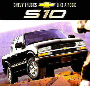 2002 chevy s10 pickup truck