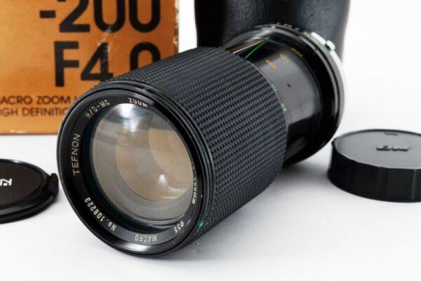Intelligent Tefnon 80-200mm F/4.0 Macro Lentille Pour Canon [ Exc Avec / Boîte,Étui De Japon