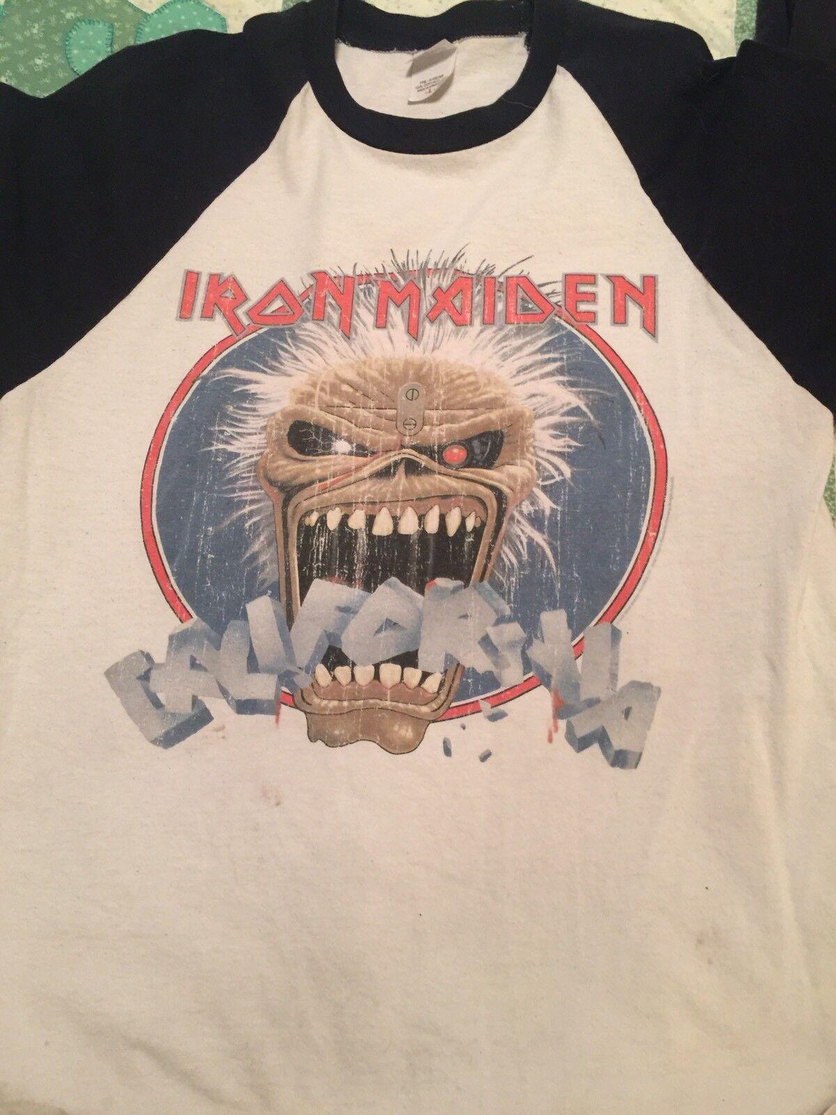 Iron Maiden California Raglan Baseball Shirt