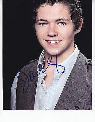 Damian McGinty - GLEE - signed 8x10