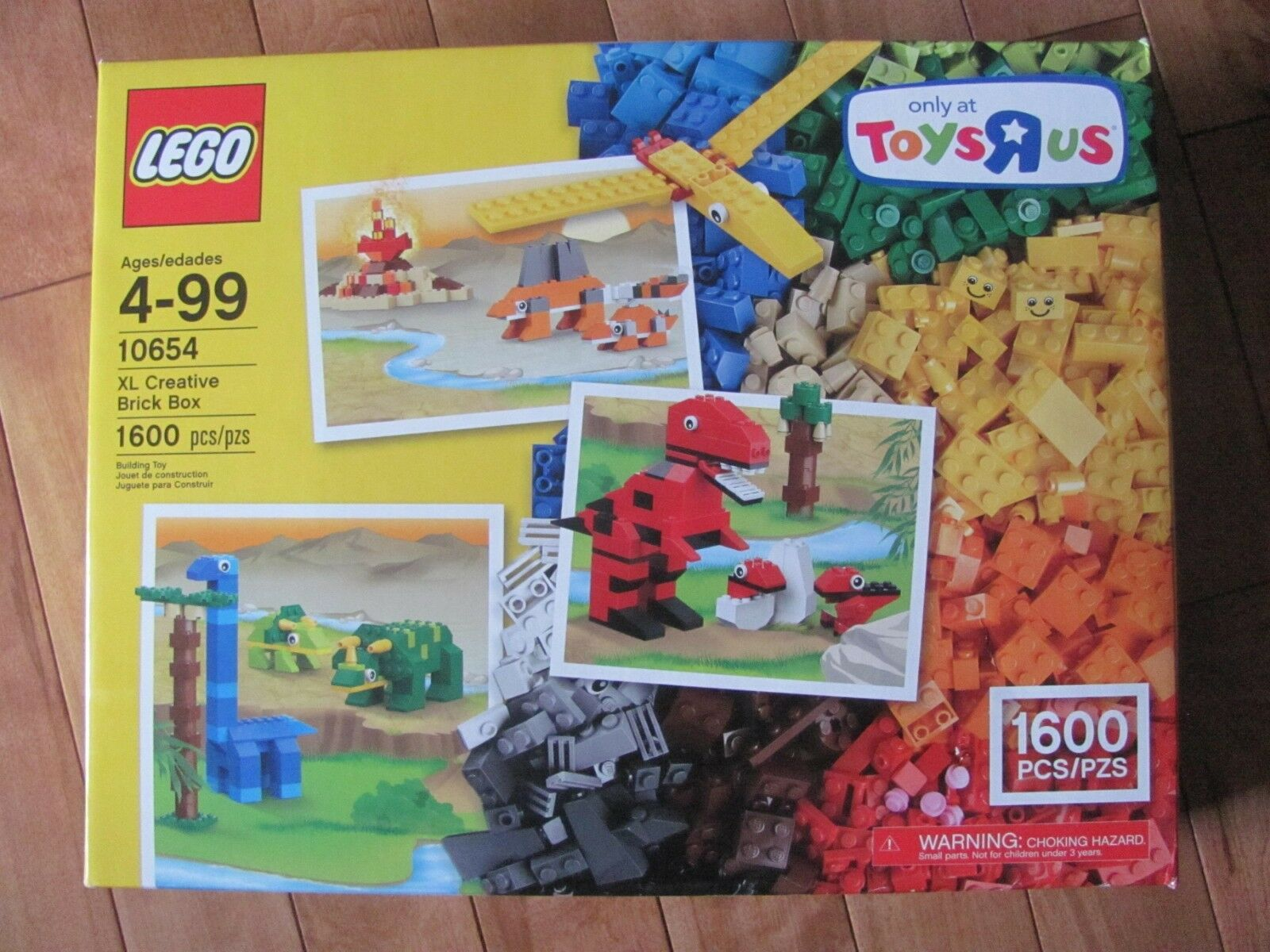 Lego Kreator  10654 XL Kreativ Stein Kiste 1600 Teiliges Set Neu Ovp