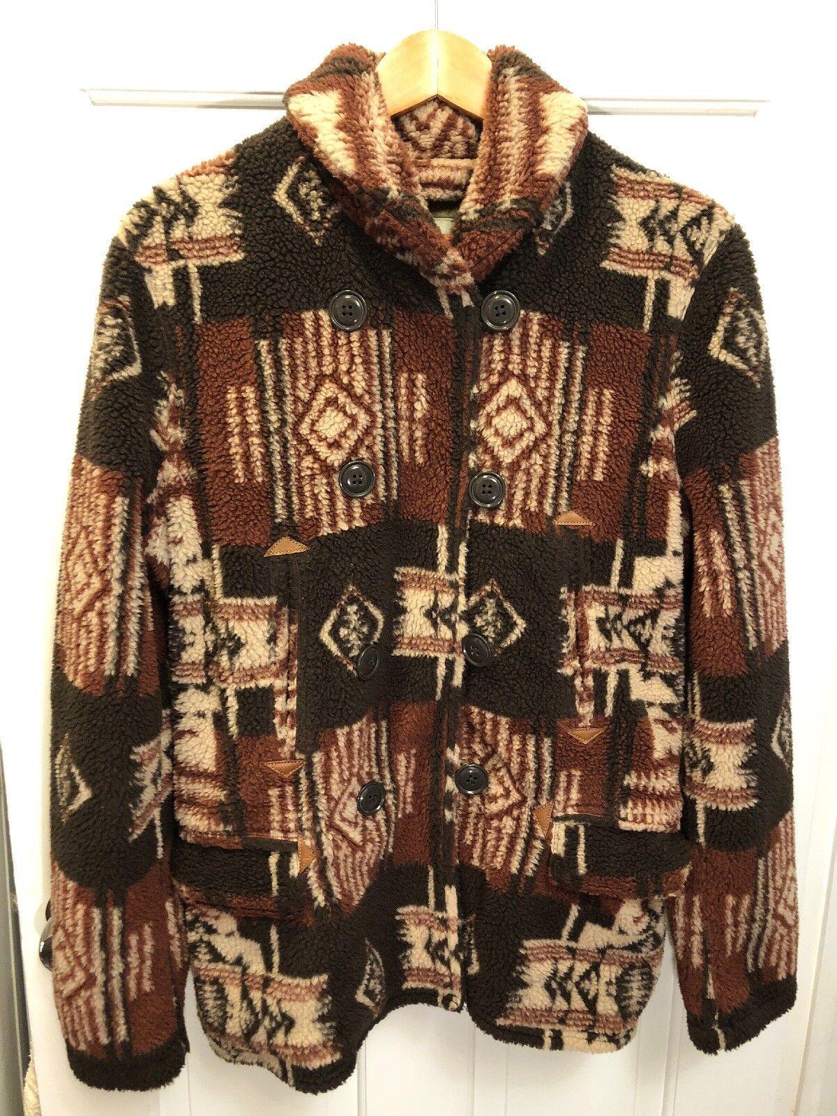 Ralph Lauren Tribal Fleece Denim&Supply Coat