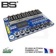 Ardiuno TM1638 button digital LED display module (eight digital tube  LED )