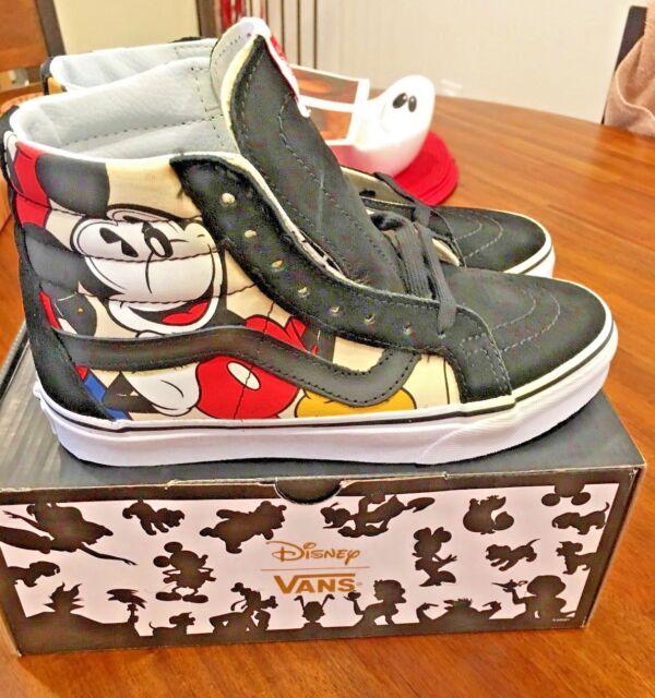 cce409a766 VANS X Disney Sk8-hi Reissue Mickey Friends Mens Skateboarding Shoes ...