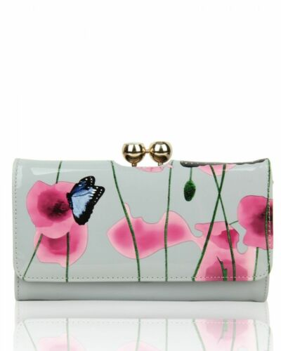 New Women/'s Square Shaped Poppy /& Butterfly Patterned Top-Handle Bag