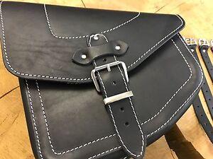 Details zu Packtasche Breakout HD Tasche Ledertasche Springer Softail Umbau Custom odin